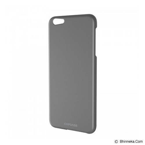CAPDASE Hard Case Apple iPhone 6 / iPhone 6S Posh Slim Fit - Grey - Casing Handphone / Case