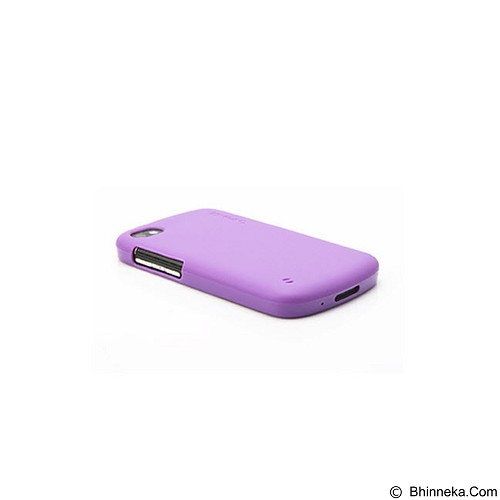 CAPDASE Jacket Softcase Casing for Blackberry Q10 - Purple (Merchant) - Casing Handphone / Case