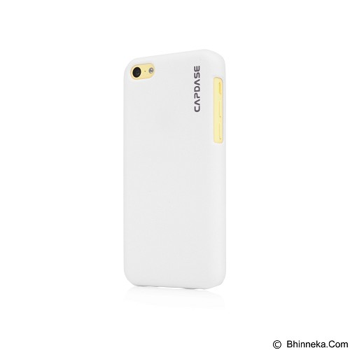CAPDASE Karapace Jacket Casing for iPhone 5c [KPIHM-T102] - White (Merchant) - Casing Handphone / Case