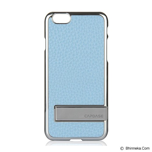 CAPDASE Karapace Jacket Chic iPhone 6 [KPIH647-C0S3] - Silver/Light Blue - Casing Handphone / Case