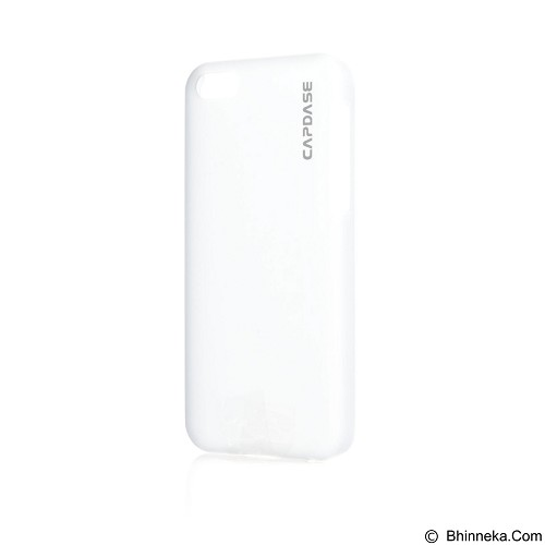 CAPDASE Karapace Jacket Finne Ds Tinted for iPhone 5c [KPIHM-F502] - White (Merchant) - Casing Handphone / Case