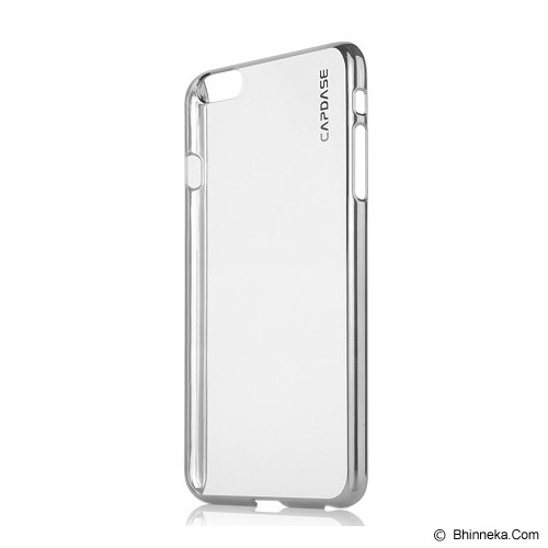 CAPDASE Karapace Jacket Meteor for iPhone 6 Plus [KPIH655-M0SW] - Silver/Pearl White (Merchant) - Casing Handphone / Case