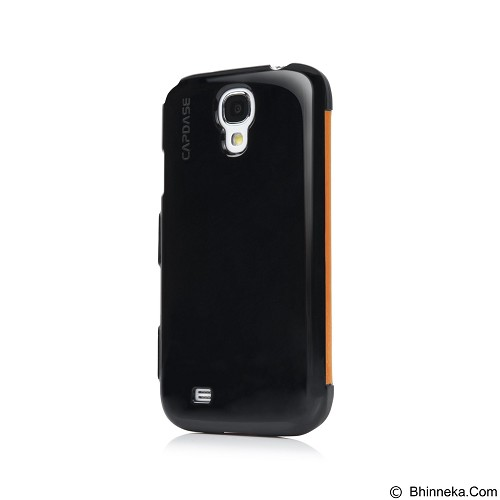 CAPDASE Karapace Jacket Sider Elli Casing for Samsung Galaxy S4 Mini [KPSGI9190-5E71] - Orange (Merchant) - Casing Handphone / Case