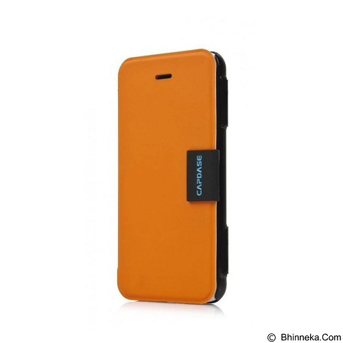 CAPDASE Karapace Jacket Sider Elli iPhone 5c [KPIHM-4E71] - Black/Orange - Casing Handphone / Case