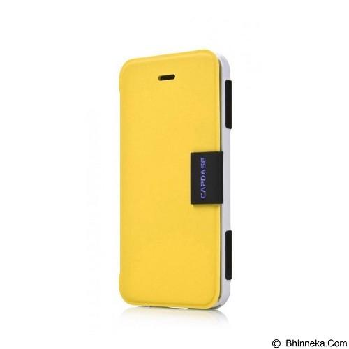 CAPDASE Karapace Jacket Sider Elli iPhone 5c [KPIHM-4EE2] - Yellow/White (Merchant) - Casing Handphone / Case