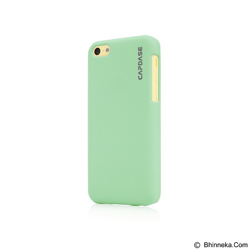 CAPDASE Karapace Jacket Touch Casing for iPhone 5c [KPIHM-T10K] - Green (Merchant) - Casing Handphone / Case