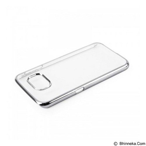 CAPDASE Karapace Meteor Casing for Samsung Galaxy S6 - Silver (Merchant) - Casing Handphone / Case