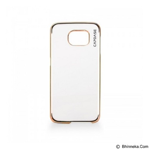CAPDASE Karapace Meteor Hardcase Casing for Samsung Galaxy S6 [KPSGS6-MPC1] - Gold (Merchant) - Casing Handphone / Case