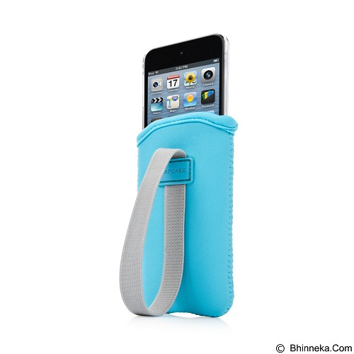 CAPDASE Karapace Value Casing for iPod Touch 5 [KPIPT5-V00C] - Blue Clear (Merchant) - Casing Handphone / Case