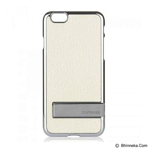 CAPDASE Karapache Hard Case Chic Power Edition Apple iPhone 6 [KPIH647-CP21] - White (Merchant) - Casing Handphone / Case
