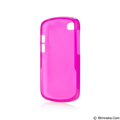 CAPDASE Lamina Tinted Jacket Softcase Casing for BlackBerry Q10 - Pink (Merchant) - Casing Handphone / Case