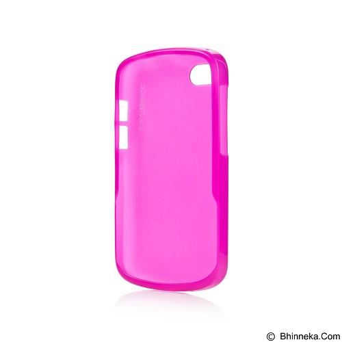 CAPDASE Lamina Tinted Jacket Softcase Casing for BlackBerry Q10 - Pink (Merchant) - Casing Handphone / Case