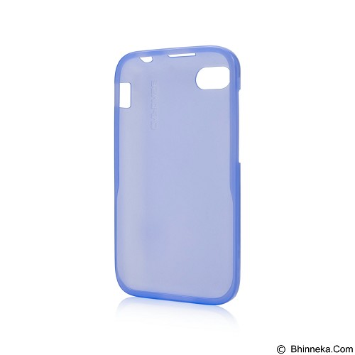 CAPDASE Lamina Tinted Jacket Softcase Casing for Blackberry Q5 - Blue (Merchant) - Casing Handphone / Case