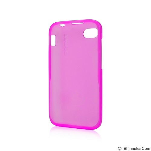 CAPDASE Lamina Tinted Jacket Softcase Casing for Blackberry Q5 - Pink (Merchant) - Casing Handphone / Case