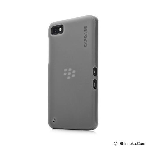 CAPDASE Lamina Tinted Softjacket Blackberry Z10 [SJBBZ10-L201] - Black (Merchant) - Casing Handphone / Case