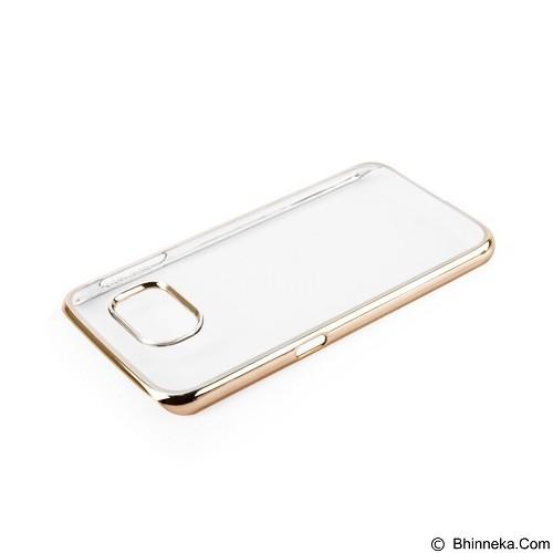 CAPDASE Meteor Karapace Jacket for Samsung Galaxy S6 [KPSGS6-M10C] - Chrome Gold (Merchant) - Casing Handphone / Case