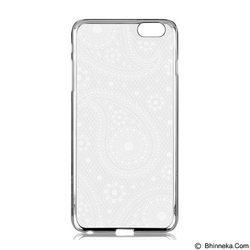 CAPDASE Mystery for iPhone 6 Plus [KPIH655-AA2W] - Silver White/Pearl White - Casing Handphone / Case