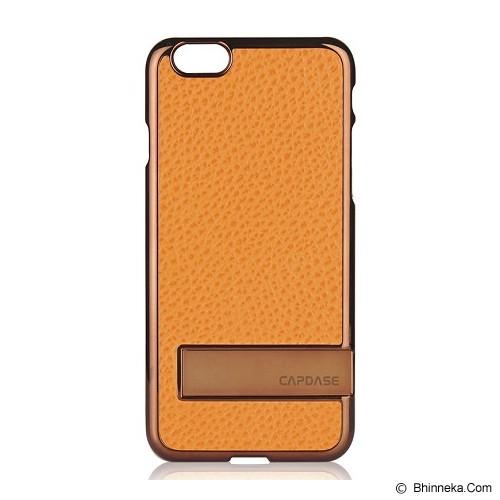 CAPDASE Karapace Jacket Chic for iPhone 6 Plus [KPIH655-C087] - Brown/Orange (Merchant) - Casing Handphone / Case