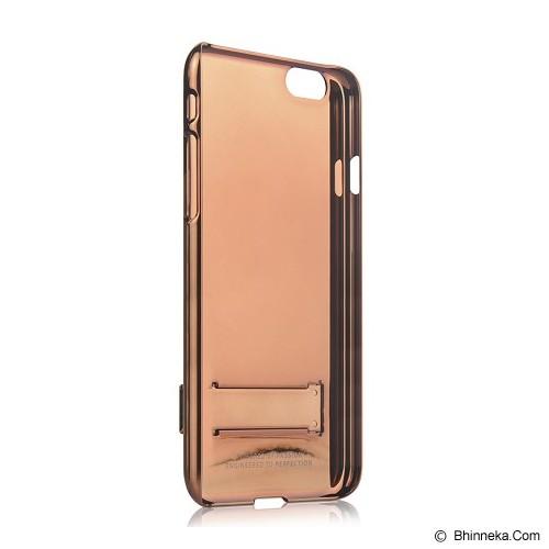 CAPDASE Karapace Jacket Chic for iPhone 6 Plus [KPIH655-C087] - Brown/Orange - Casing Handphone / Case