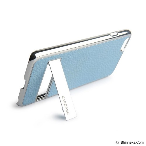 CAPDASE Karapace Jacket Chic iPhone 6 Plus [KPIH655-C0S3] - Silver/Light Blue (Merchant) - Casing Handphone / Case