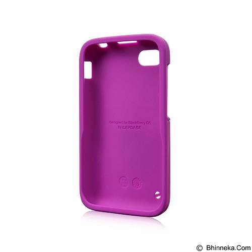 CAPDASE Polimor Case Jacket BlackBerry Q5 [PMBBQ5-5144] - Fuchsia (Merchant) - Casing Handphone / Case