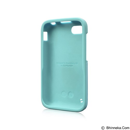 CAPDASE Polimor Case Jacket BlackBerry Q5 [PMBBQ5-51CC] - Ice Blue (Merchant) - Casing Handphone / Case