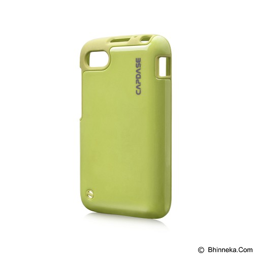 CAPDASE Polimor Jacket Case BlackBerry Q10 [PMBBQ10-5166] - Green (Merchant) - Casing Handphone / Case