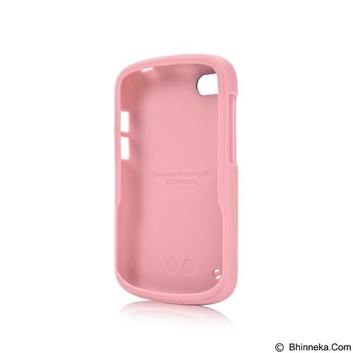 CAPDASE Polimor Jacket Casing for BlackBerry Q10 [PMBBQ5-51PP] - Candy Pink (Merchant) - Casing Handphone / Case
