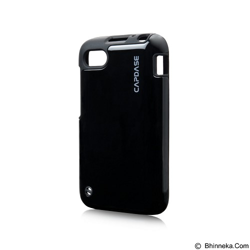 CAPDASE Polimor Jacket Casing for BlackBerry Q5 - Black (Merchant) - Casing Handphone / Case