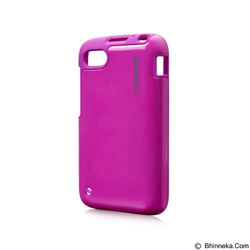 CAPDASE Polimor Jacket Casing for BlackBerry Q5 - Fuchsia (Merchant) - Casing Handphone / Case