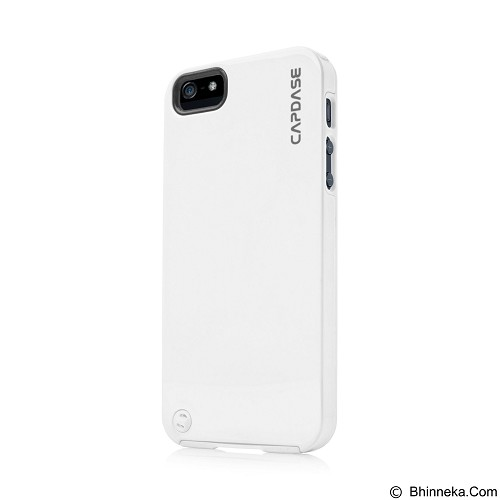 CAPDASE Polimor Jacket Casing for iPhone 5/5s - White (Merchant) - Casing Handphone / Case