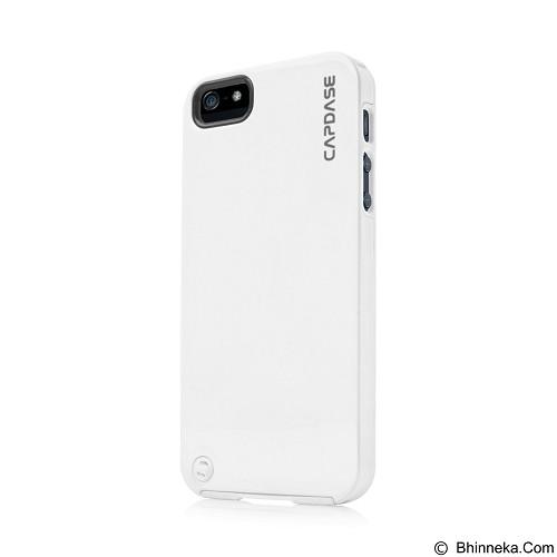 CAPDASE Polimor Jacket Casing for iPhone 5/5s - White (Merchant) - Casing Handphone / Case