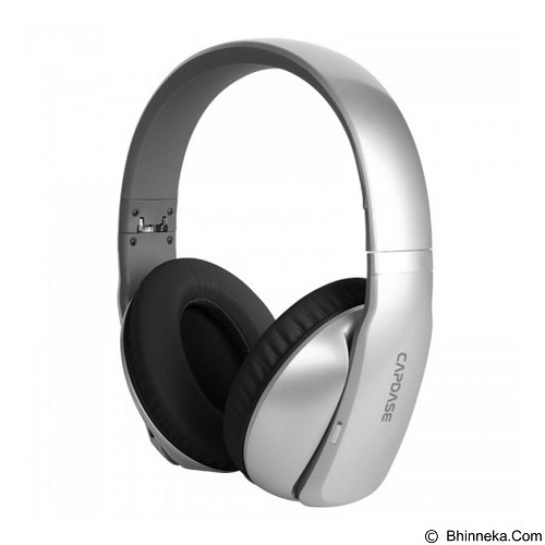 CAPDASE Posh ANC Bluetooth Headphones [BH00-P10S] - Silver - Headset Bluetooth