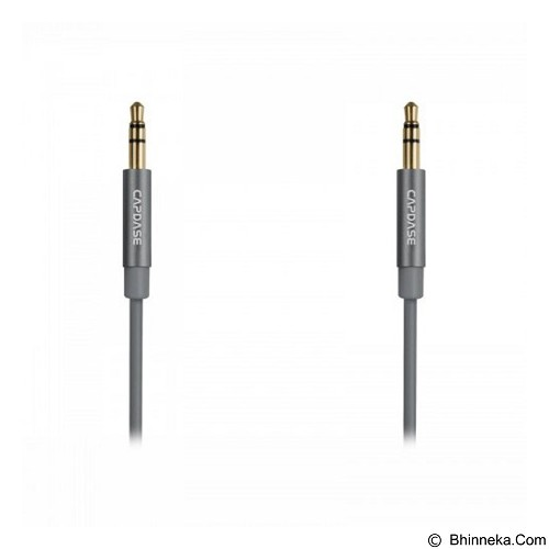 CAPDASE Posh Auxiliary Audio Cable [AV00-P00G] - Grey - Cable / Connector Analog