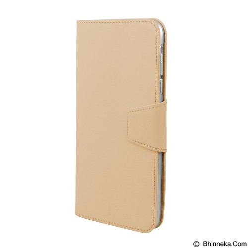 CAPDASE Posh Folio Case Apple iPhone 6/6S [FCIH6S-PESB] - Gold Silver (Merchant) - Casing Handphone / Case