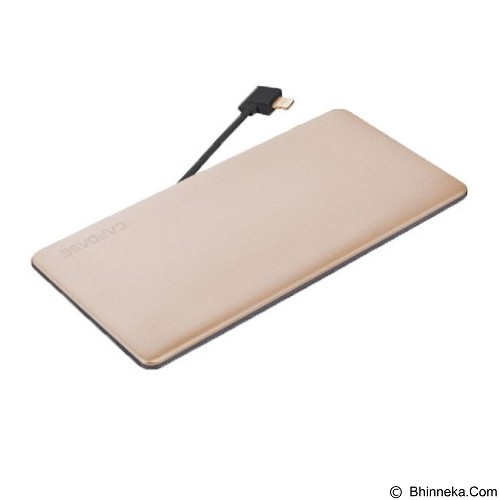 CAPDASE Posh L-Pin Powerbank 3200mAh [PBCB-P00C] - Gold (Merchant) - Portable Charger / Power Bank