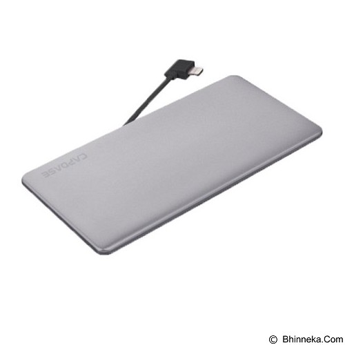 CAPDASE Posh L-Pin Powerbank 3200mAh [PBCB-P00G] - Grey (Merchant) - Portable Charger / Power Bank