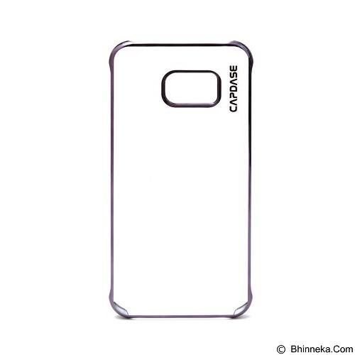 CAPDASE Posh Metal Frame Crystal Casing for Samsung Galaxy S7 [KPSGS7-PM01] - Black (Merchant) - Casing Handphone / Case