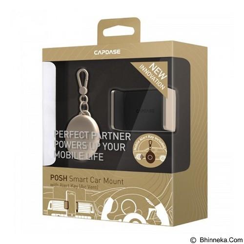 CAPDASE Posh Smart Car Mount Air Vent with Alert Key [HR00-P10C] - Gold (Merchant) - Gadget Mounting / Bracket