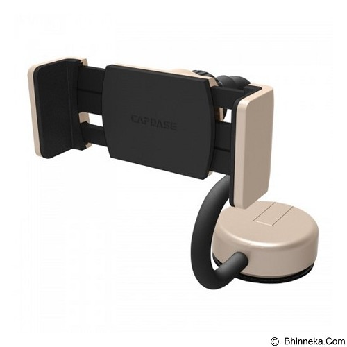 CAPDASE Posh Smart Car Mount with Alert Key [HR00-P00C] - Gold - Gadget Mounting / Bracket