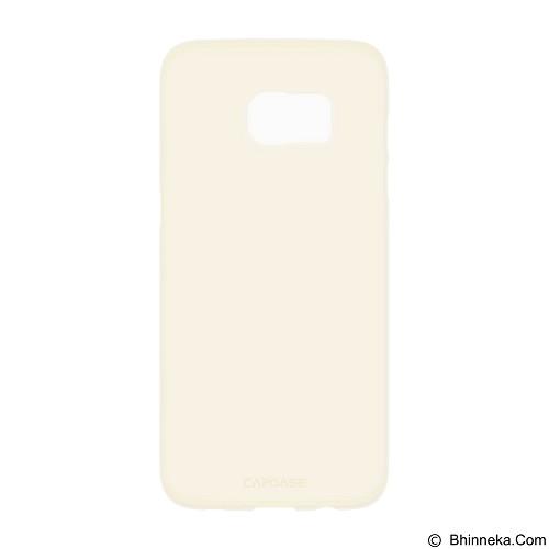 CAPDASE Posh Soft Slim Fit Casing for Samsung S7 Edge [SJSGS7E-PF0C] - Tinted Gold (Merchant) - Casing Handphone / Case