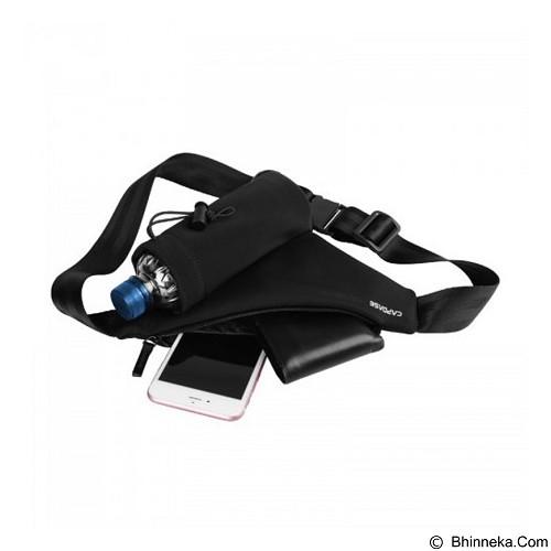 CAPDASE Posh Water-Resistant Waist Pouch 265A [WB00P265A-P001] - Black - Tas Pinggang / Travel Waist Bag