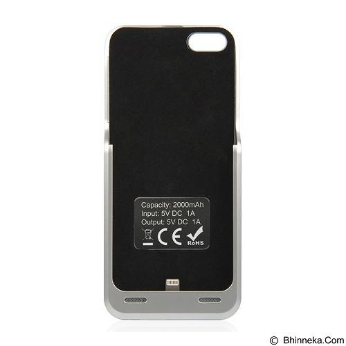 CAPDASE Power Armor Battery Casing for Apple iPhone 5 or 5s [BPIH5-LT0S] - Silver (Merchant) - Casing Handphone / Case