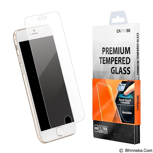 CAPDASE Premium Tempered Glass for Apple iPhone 7 [SPIH7-FT01-C0] - Clear (Merchant) - Screen Protector Handphone