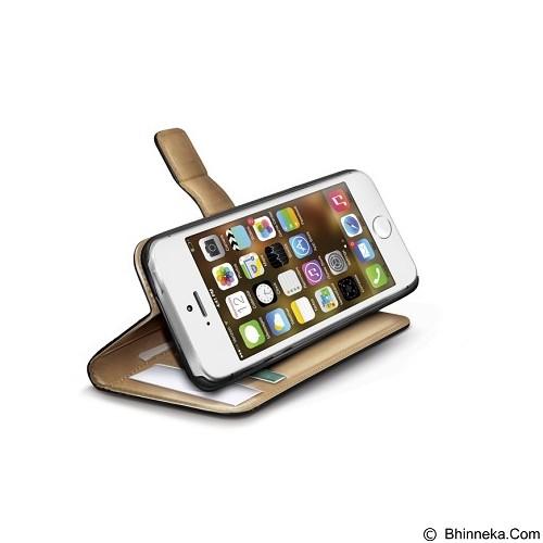 CAPDASE Pu Wallet Casing for Apple iPhone 5/5s [WALLY185] - Black (Merchant) - Casing Handphone / Case