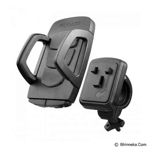 CAPDASE Racer Bike Mount Holder [HR00-BC01] - Black - Gadget Mounting / Bracket