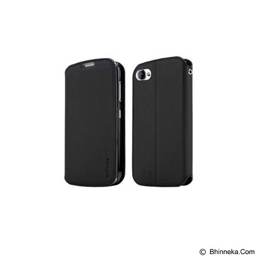 CAPDASE Sider Baco Folder Casing for BlackBerry 9720 [FCBB9720-SB11-BB] - Black (Merchant) - Casing Handphone / Case
