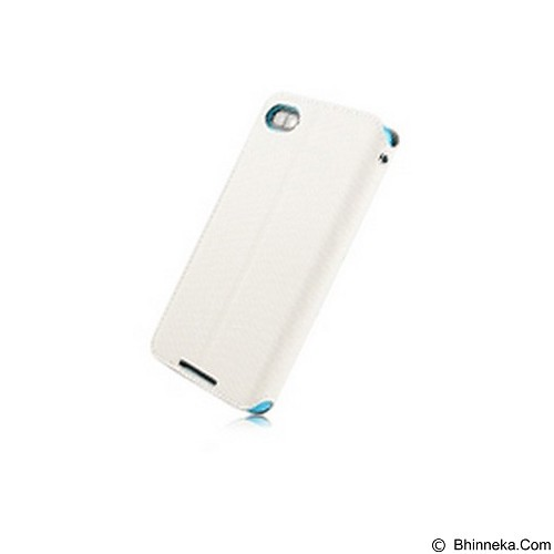 CAPDASE Sider Baco Folder Casing for BlackBerry Z30 [FCBBZ30-SB23-BB] - White Blue (Merchant) - Casing Handphone / Case