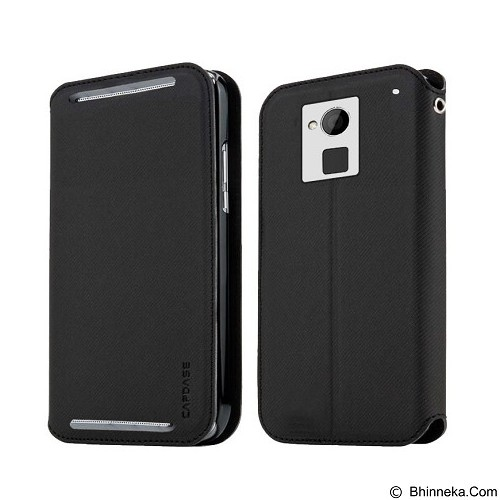 CAPDASE Sider Baco Folder Casing for HTC One [FCHCONE SB11] - Black (Merchant) - Casing Handphone / Case