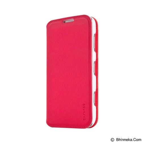 CAPDASE Sider Baco Folder Casing for Nokia Lumia 925 [FCNK925-SB92] - Red/White (Merchant) - Casing Handphone / Case